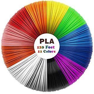 filamento PLA 12 colores 3m
